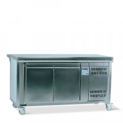 Food service counter neutral incl. under-bench cooling