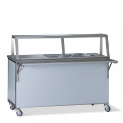 Food service counter Cold 4 x 1/1 GN incl. under-bench cooling